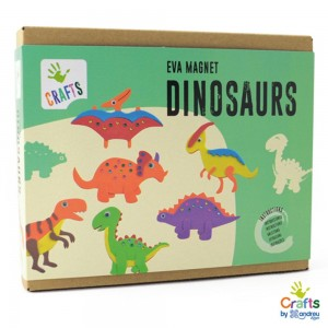 Andreu toys Направи сам магнити Динозаври