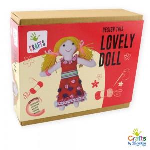 Andreu toys направи си парцалена кукла