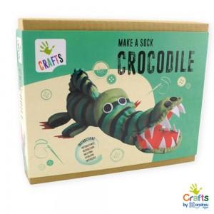 Andreu toys направи си крокодил от чорапче