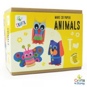 Andreu toys Направи животни от хартия