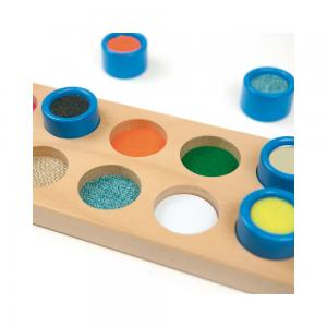 Andreu toys Тактилна игра с цилиндри