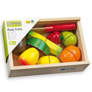 Andreu toys голям комплект плодове за рязане