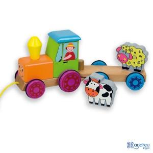 Andreu toys Трактор с магнити