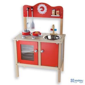 Andreu toys Детска дървена кухня