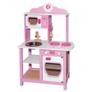 Andreu toys Детска дървена кухня за принцеси