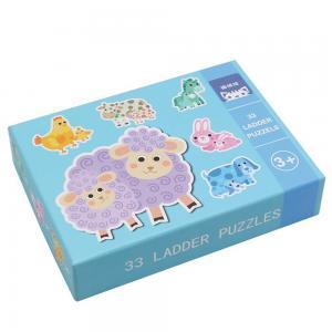 Andreu toys Комплект пъзели Животните и техните малки