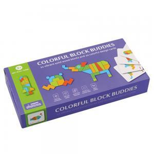 Andreu toys Цветна дървена мозайка