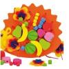 Andreu toys Дървена играчка за нанизване и шиене
