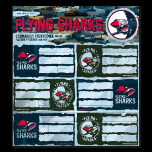 Ars Una Flying Sharks самозалепващи етикети