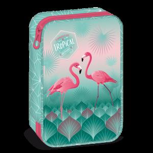 Ars Una Pink Flamingo несесер с един цип на две нива