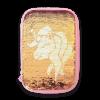 Ars Una Daisy Unicorn несесер с един цип на две нива с пайети