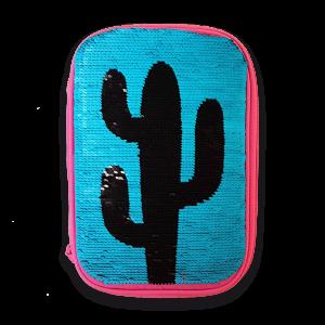 Ars Una Desert Adventures несесер с един цип на две нива с пайети