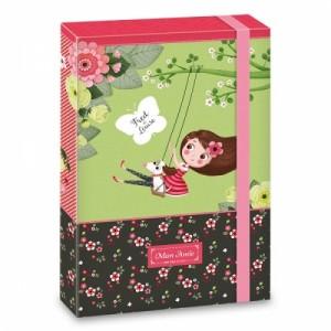 ARS UNA  кутия с ластик  MON AMIE
