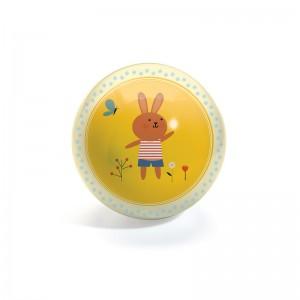 Djeco гумена топка зайче
