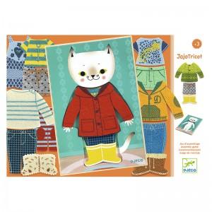 Djeco дървена игра Jojo tricot