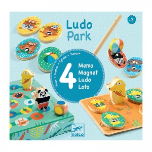 Djeco комплект игри Ludo Park