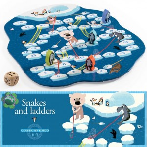 Djeco игра Snake and Ladders