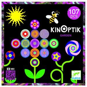 Djeco анимирани картини Kinoptik градина