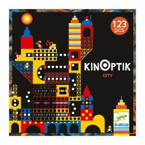 Djeco анимирани картини Kinoptik град