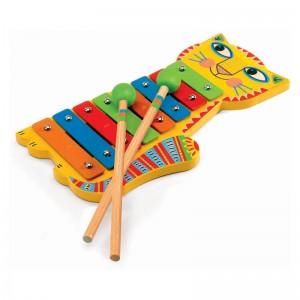 Djeco дървен ксилофон Animambo