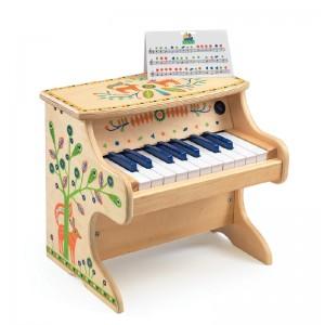 Djeco дървенo пиано animambo
