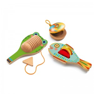 Djeco комплект музикални инструменти animambo