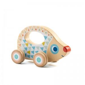 Djeco Дървена играчка за бутане BabyRouli