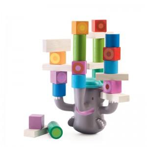 Djeco игра за баланс слонче