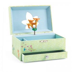 Djeco Музикална кутия песента на сърничката