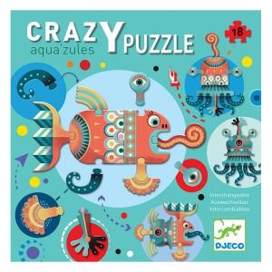 Djeco пъзел гигант Crazy puzzle Aqua'zules