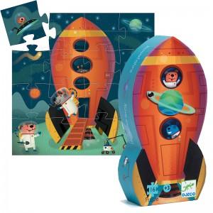 Djeco пъзел Космически кораб