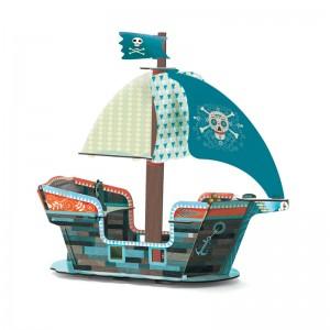 Djeco 3D пиратски кораб