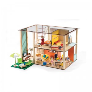 Djeco Къща за кукли Cubic