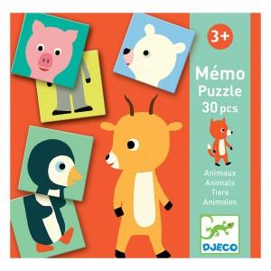 Djeco Мемо игра animo puzzle