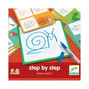 Djeco нарисувай стъпка по стъпка - животни