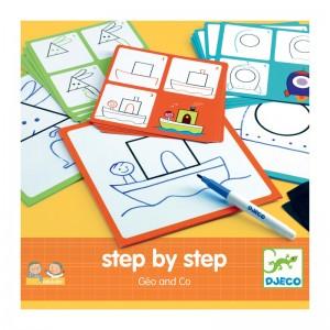 Djeco нарисувай стъпка по стъпка - форми