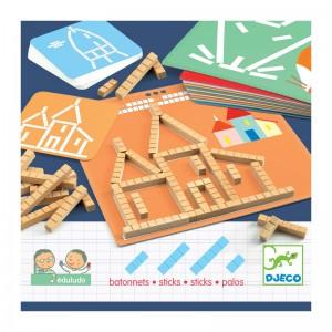 Djeco Образователна игра с пръчици