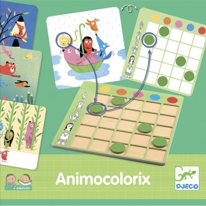 Djeco образователна игра Animo Colorix