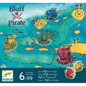 Djeco стратегическа игра Bluff Pirate