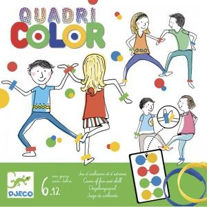 Djeco детска арт игра Quadricolor