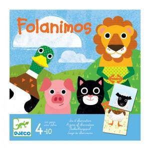 Djeco игра с карти Folanimos