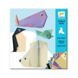 Djeco Комплект оригами полярни животни
