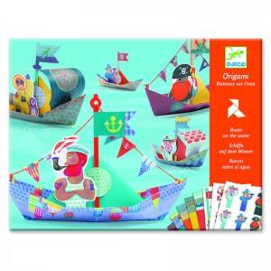 Djeco Комплект оригами лодки