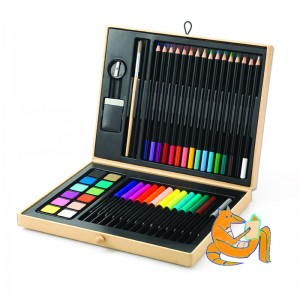 Djeco комплект за рисуване Color box