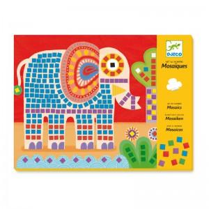 Djeco детска мозайка слонче