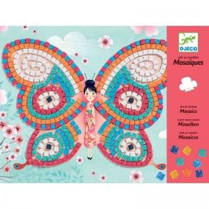 Djeco детска мозайка пеперуда