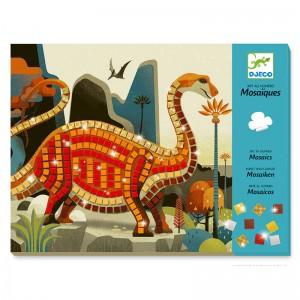 Djeco детска мозайка динозаври