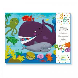Djeco движещи се картини Морски животни