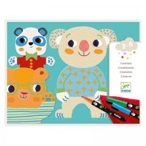 Djeco Комплект за рисуване The cuties
