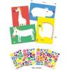 Djeco Картини със стикери животни